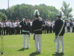 Meldung Hauptmann Sicking an Major Bock