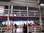 In der oberen Etage des Schiffes waren die Passagiere untergebracht.