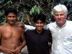 Eduardo lebt seit den letzten 5 Jahren vom Speise-Fischfang.