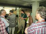 Exclusive Führung durch die Quarantäne- und Aufzuchtstation im Keller des Aquarienhauses.