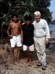 Von links: Neo, Eduardo und ich im Jahre 2000.