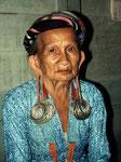 Boa Daun ist in Tering Baru die ranghöchste unter den Bahau Dayaks.