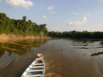 Blick auf den Rio Tefé.