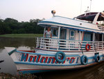 Rio Tefé-Reise 2010: Mit so einem luxuriösen Hausboot wird die einwöchige Amazonastour zu einem Traumurlaub.
