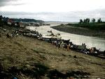 Der Tabatinga-Hafen in Brasilien war Ausgangspunkt unserer Fischfangreise.