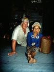 Die Bahau Dayaks stammen ursprünglich aus dem Gebiet des Bahau-Flusses.