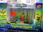 Die gute Stube im Aquarium.