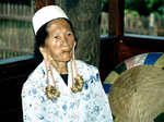 Borneo Kenyah Dayak Timur.