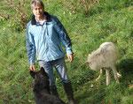 Prof. Dr. Kurt KOTRSCHAL im Wolfsforschungszentrum von Ernstbrunn