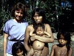 Die Mayoruna stammen vom Oberlauf des Rio Javari auf der peruanischen Seite.