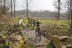 Mit dem Fahrrad unterwegs...