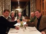 5/2009 Die Sieger im (Wahl) Lotto Peter Schratt, Gerhard Liegl, Hans Rainer und Norbert Fasching