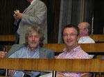 Ing. Alois K. und Didi M. bei der Sitzprobe