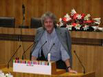 Ing. Alois K. bei seiner ersten Rede im Parlament