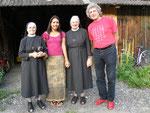 mit den Klosterschwestern