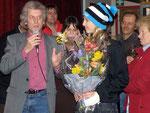 3/2009 Empfang der Junioren Weltmeisterin im Snowboard Sabine Schöffmann