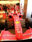 ...und dem Ferrari