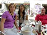 mit Barbara und Harald im Cafe Taupe