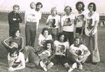 9/1972 Atlantis Fußballteam mit Willi Resetarits (Ostbahn Kurti) stehend 2. von links