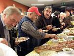 Auch unsere Freunden aus Italien schmeckt die Kärntner Jause