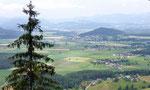 Blick auf Eberstein unser Tagesziel