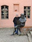 mit dem Maler Lucas Cranach