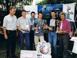 6/2000 bei den öster. Meisterschaften der Ballonfahrer