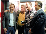 1/2015 mit Stadtrat von St. Veit Rudi Egger, Künstler Horst Rauter und BGM Konrad Seunig