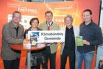 10/2010 Klimabündnissgemeinde mit LR Beate Prettner, LT Klaus Köchl, BGM Konrad Seunig und Klimabündnisschef Peter Molnar