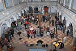 Der Rathaussaal in St. Veit füllt sich