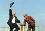 3/2002 im Stift St. Georgen mit dem Präsidenten des öster. Bauerngolfverbandes Herbert Floigl