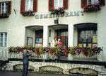 8/1993 Hochzeit mit Elisabeth im alten Gemeindeamt St. Georgen am Längsee