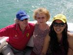 bei der Bootfahrt über den Wörtersee