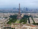 vom Montparnasse Tower aus