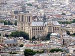Notre Dame von oben