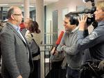 Günther Liegl beim ORF Interview