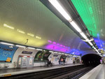 Metrostation Rambuteau (Centre G. Pompidou)
