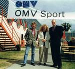 5/1998 OMV Sportsommerfest mit VD Marc Hall und Assistentin Roswitha Wichtl