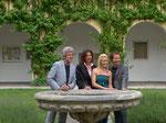 6/2012 Pressekonferenz mit Andy & Kelly Kainz zum Sommerball im Stift