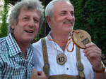 8/2012 mit dem 1. Kärntner Landesmeister im Bauergolf Bruno Rernböck