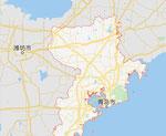 青島市・濰坊市の地図
