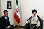 安倍首相 ハメネイイラン最高指導者と会談