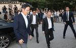 韓国サムスン電子 副会長と交流