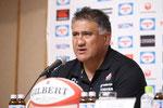 ジェイミー・ジョセフヘッドコーチ 選手発表 ニュージランド人日本企業でも活躍