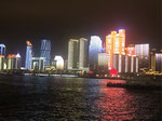 近代的な青島の夜景