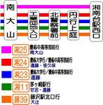 神奈中バス 乗車案内図