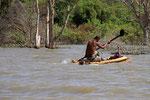 Fischer auf dem Chamo-See