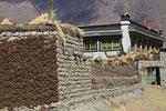 Dorfansicht bei Chuksar, Tibet