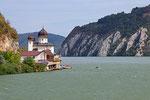 Kloster Mraconia an der Donau, Rumänien