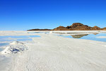 Salzgewinnung, Salar de Uyuni, Bolivien